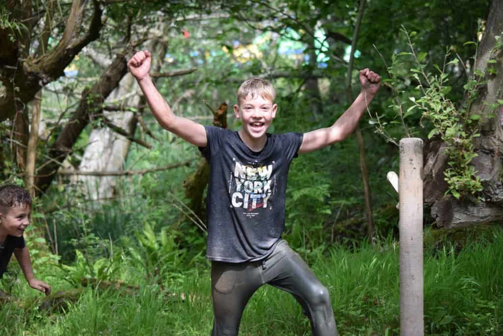 Kids Mud Trail Party