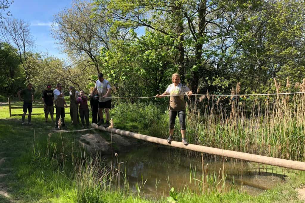 Team Building Mud Trail