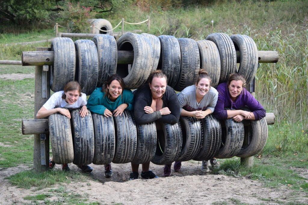 mud trail team building