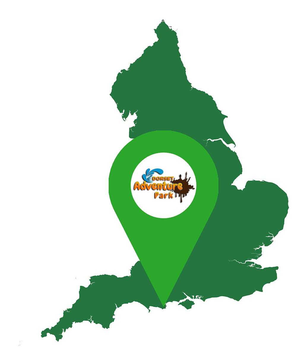 Map of Dorset Adventure Park